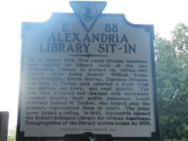 American Civil Rights Movement Marker by Flaherty56