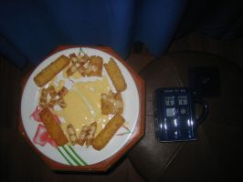 Happy Fish Fingers and Custard Day!!! (A day late) by XTerraDiabolusX
