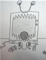 TV Eats Your Brains by Esrever-Ni-Tra