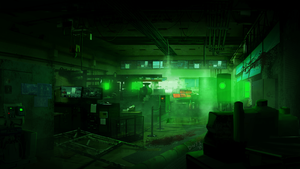 Mattepainting: Experiment Lab by dragoonwys