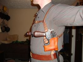 Mauser C96 Holsters (Left) by gollumsalterego