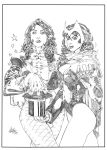 Scarlet Witch and Zatanna 3 by Atlas0