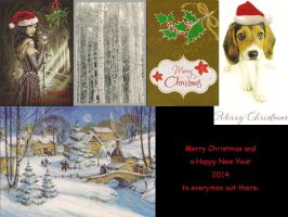Christmas Card Collection 2013 Part 1 by victorymon