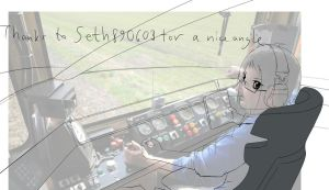 Train Driver by Anomonny