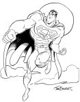 Superman Flight by tombancroft