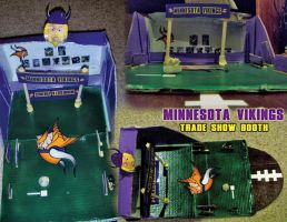 MN Vikings Self-Made Booth by davilesdesigns