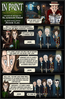 In Print, Guest Strip: Infinity Doctors 1 by AHiLdesigns