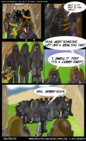 Lord Of The Rings Comic 001 by TheSilentBob