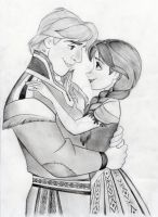 Kristoff and Anna- Disney's Frozen by julesrizz