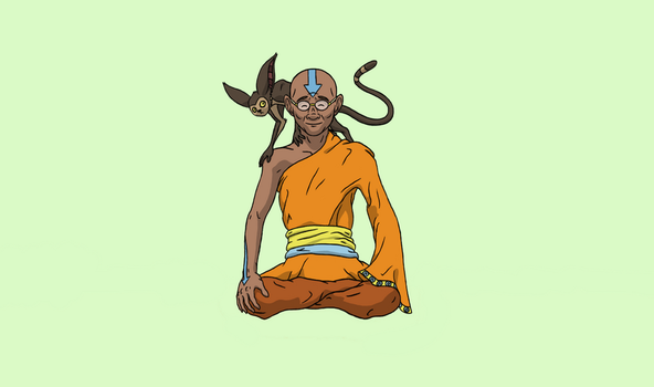 Airbending Master by cogito-ergo