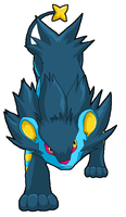 Pixel luxray by KoreenRegion
