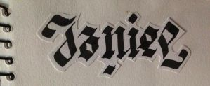 My name's Ambigram by josiah07