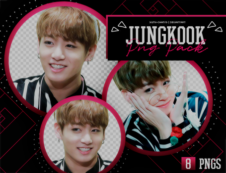 PNG PACK: JungKook (BTS) #9 by Yumi-chan19