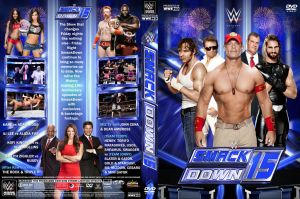 WWE SmackDown 15 DVD Cover by Chirantha