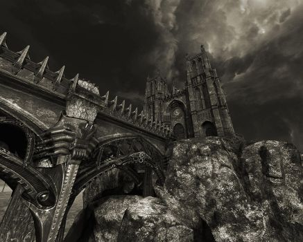 gothic cathedral 3 by desan476