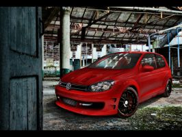 Volkswagen Golf VI GTR by Geryy