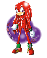 GIFT(or RQ):Knuckles The Echidna by ElyonTH