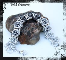 Men's Celtic Visions Bracelet (Black Fade) by kelleejm1