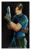 Leon Kennedy by jerinian