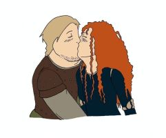 Young Macguffin/Merida by MuLtIcOloR