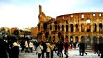 Colosseo and People by blossomoftea