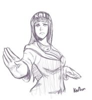 Hinata Sketch by Knifoon