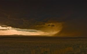 Storm on Southwest Plains III by elektronika7