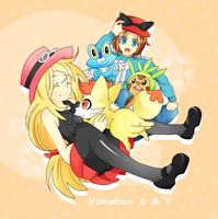 Pokemon XY by Enacchi