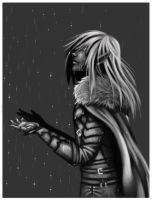 Drizzt: Rain and Sand by Rui-Shi