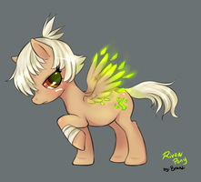 Riven Pony by BrandiMuffin