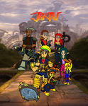 Jak 4 The Freedom HQ Returns.logo by 9029561