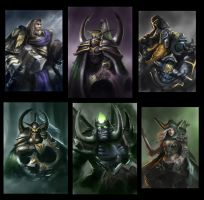 Warcraft Fanart Sketches by NikolaiOstertag