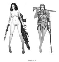 warhammer maidens by PabelBilly