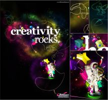Creativity Rocks by vinyss