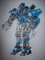 Transformers Jolt ROTF color version by isterini