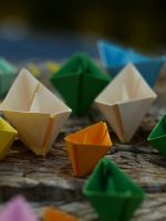 my paper boats by Mmazare