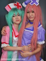 ACG HK 2012 - Vocaloid - Miku and Luka by leekenwah