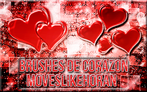 +Brushes de Corazon. by Moveslikehoran