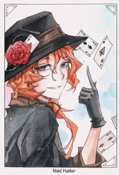Bungou Stray Dogs Chuya Nakahara by AnALIBI
