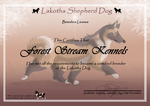 Licence Ld  Forest Stream Kennels by LadyLirriea