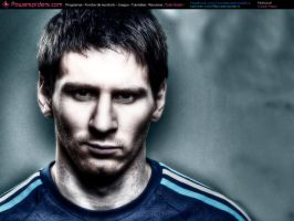 Lionel Messi by powerspiders