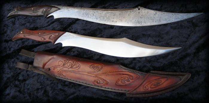 Elvish Knives by Fable Blades by Fableblades