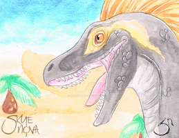 Raptor Aceo Card by NathalieNova