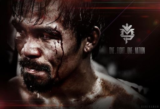 ONE FIGHT. ONE NATION - Manny PACMAN Pacquiao by Aiziku