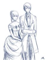 Vincent And Rachel by whitewestie13