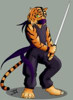 Tiger Ninja v2 by SwiftMegaeran