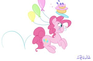 There's a birthday somewhere by KeroseneCanine