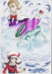 pokemonHGSS_battle for suicune by blueriza