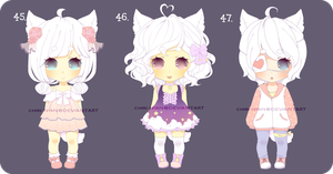 [Closed]Adopt Auction 45-47 by Chiri-nyan
