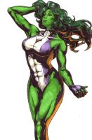 She Hulk 3 by Thestickibear